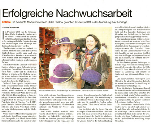 August 2012, Deutsches Handwerksblatt