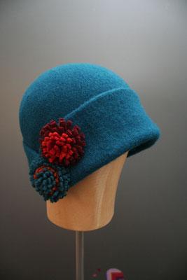 Wintermütze aus Wolle aus dem eigenen Hutatelier