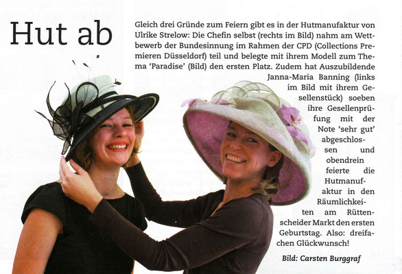 August 2008, Location Magazin