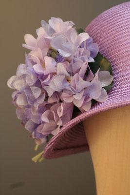 festlicher Hut - 20er Jahre Glocke mit Blüten