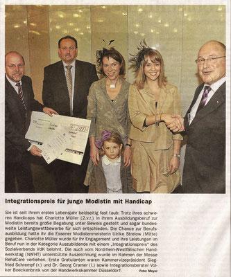 November 2009, Deutsches Handwerksblatt