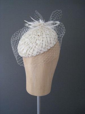Brautkopfschmuck, Fascinator für die Hochzeit