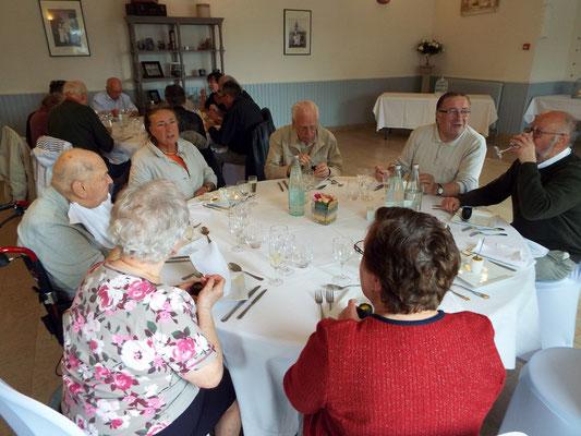 Au restaurant Les Tisons