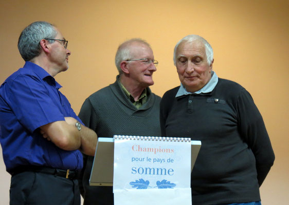 Corbie avec Guy Boudeville, Isabelle Grenon (remplaçante) et Michel Damagnez