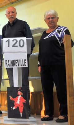 Rainneville avec Noël Degouy et Nicole Verdoncq