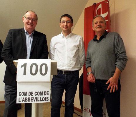 CC Abbevillois avec Pascal Lefèbvre, Cyrille Risse et Pascal Lefèbvre
