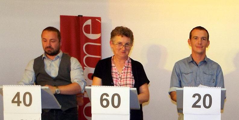Oisemont avec Aurélien Ries, Béatrice Crété et Nicolas Ricouart