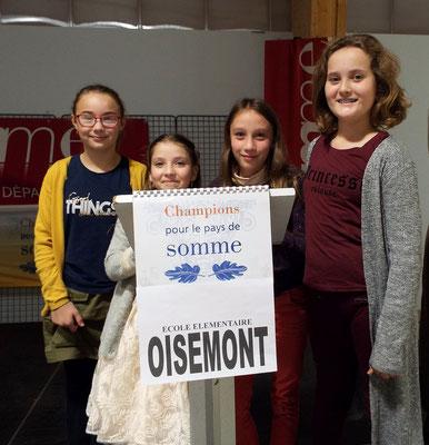 L'équipe de l'école de Oisemont