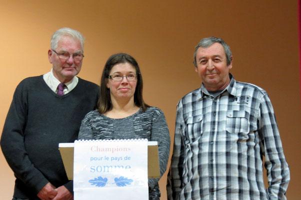 Longueau avec Jacques Pelletier, Dominique Massot et Francis Ruelle