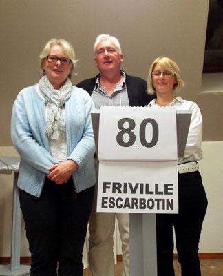 Friville avec Sylvie Lefèvre, Philippe Lelong et Isabelle Courtin