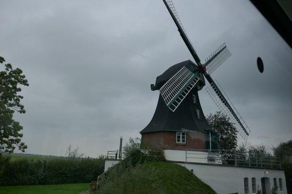 Letzte funktionsfähige Windmühle auf Eiderstedt