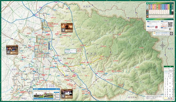 岡崎文化財マップ地図面