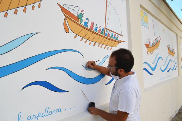 Murales a San Pancrazio Salentino (BR) 2016