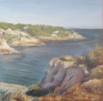 Timo, olio su tavola, 30 x 30 cm, 2020