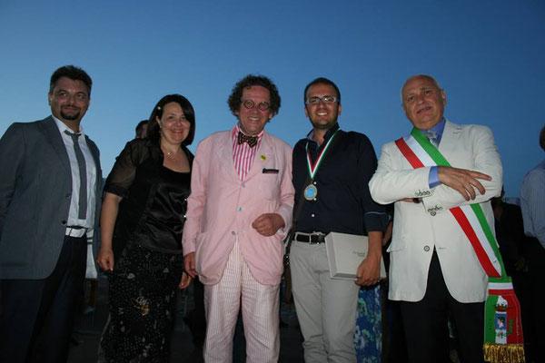 Premiazione 41° Incontro Nazionale Madonnari in Grazie di Curtatone (MN) 2014 1° Classificato