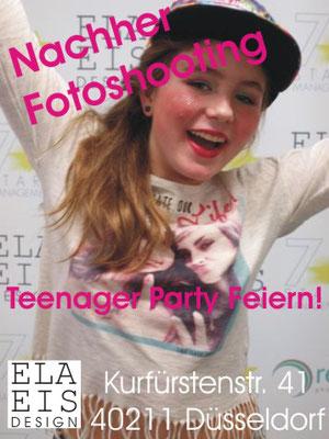 Fotoshooting bei ELA EIS in Düsseldorf