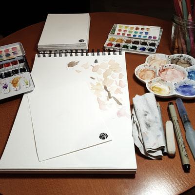 Livezeichnen, Live Art, Liveportrait