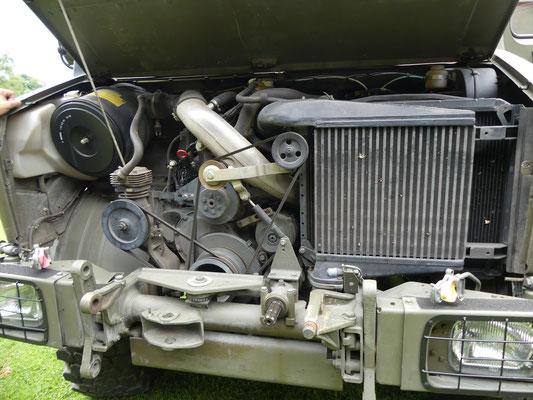 OM 366 LA Aggregat, 6 Zylinder, Diesel, 5958 ccm mit Ladeluftkühler