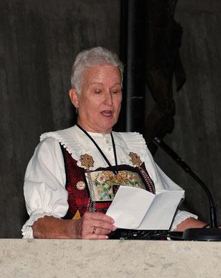 Rita Albisser: Laudatio für...