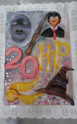  15 : Harry Potter Motivtorte zum 20. Geburtstag