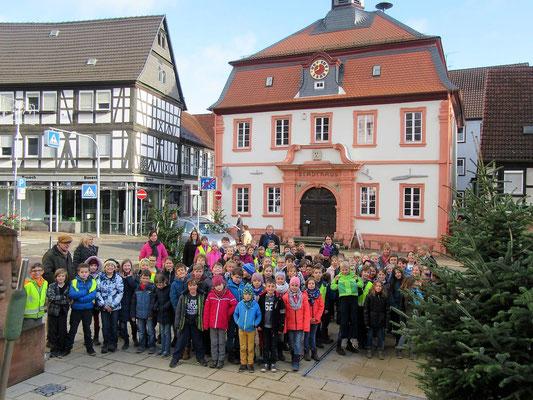 Schülern und Schülerinnen der Otfried Preußler Grundschule
