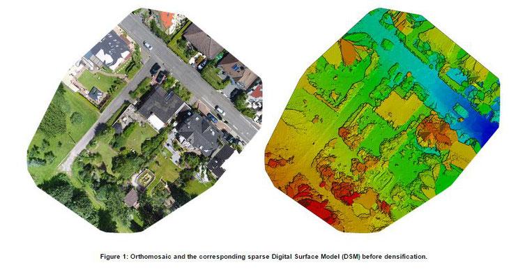 Zentimeter genaue Vermessung mithilfe von Photogrammetrie