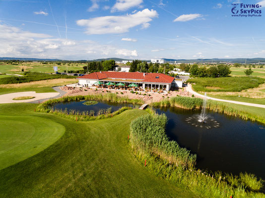 Clubhaus Golfplatz Niedernberg