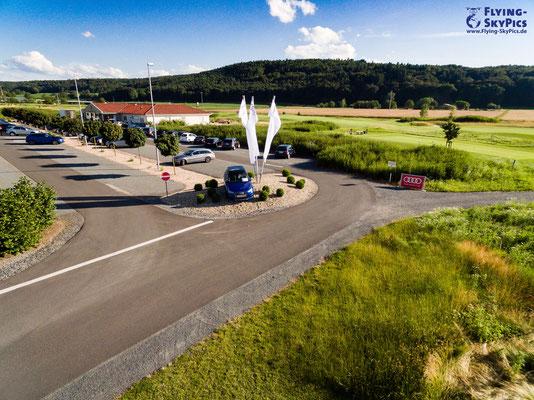 Zufahrt Golfplatz Niedernberg