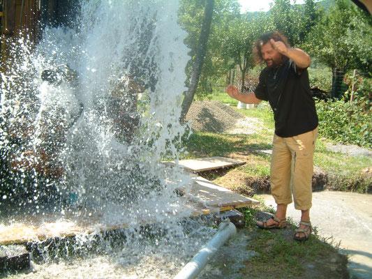 Rabdomanzia professionale, pozzo Termale a Villafranca in L.