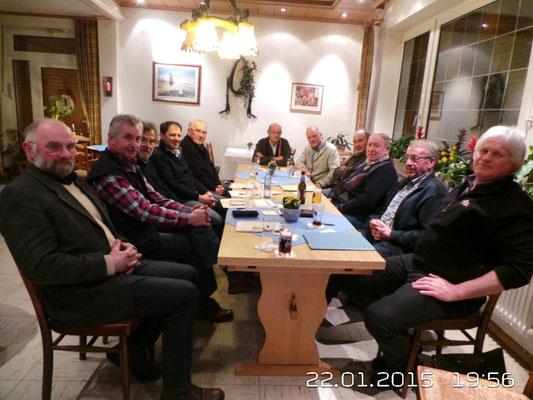 Versammlung im Gasthof Haselhoff