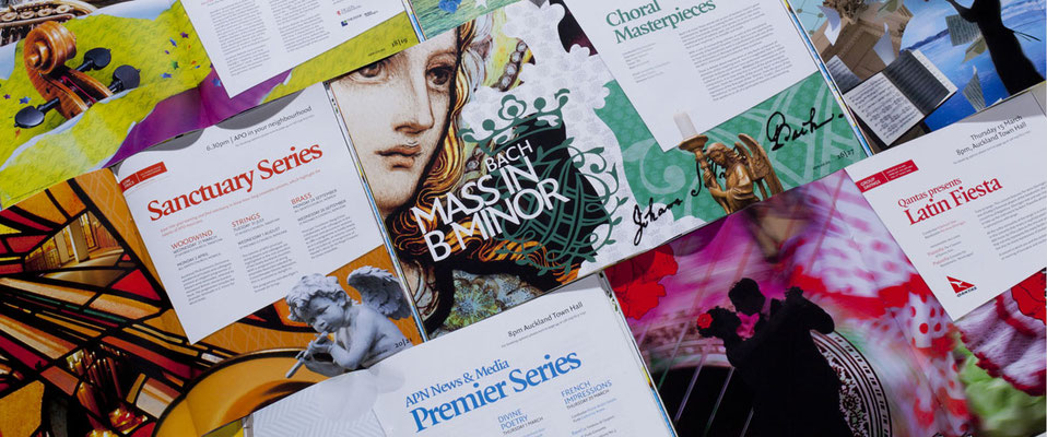Concept and design marketing material (Marque)