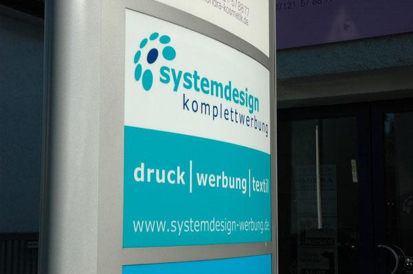Systemdesign Werbung Reutlingen Tübingen Textildruck
