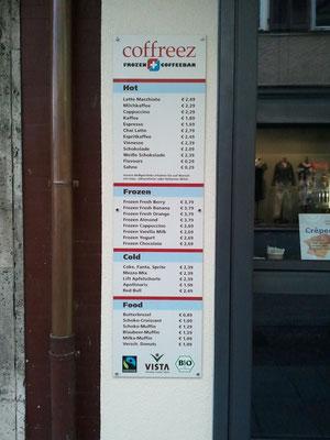 Alu-Verbund Schild mit Digitaldruck