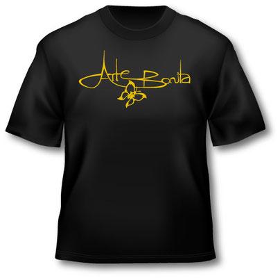 T-Shirt im Siebdruck bedruckt, 1-farbig