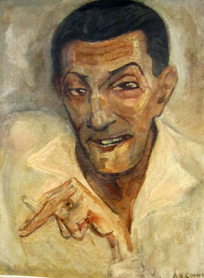 Réf41 Portrait de Morillot Huile 46x35 1930