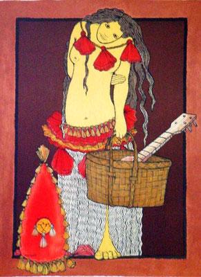 Pupahu 75x54 Lithographie