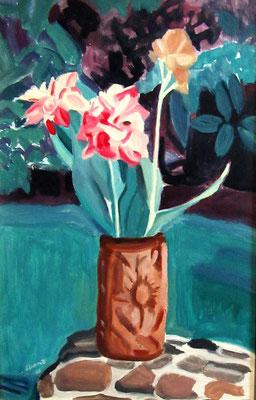 N°18 Bouquet exotique N°934 Hpinex 45X30
