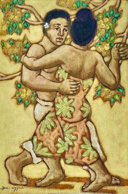 N°17 Danse tahitienne 75x49 HST