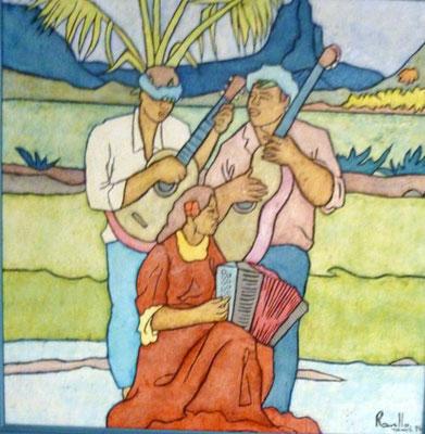 RAVELLO L'orchestreN°2420 60x60 1994