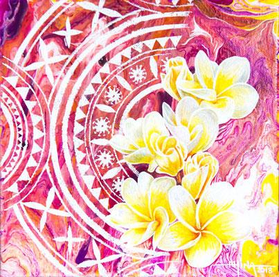 N°6 Bouquet de soleil 20x20 AST
