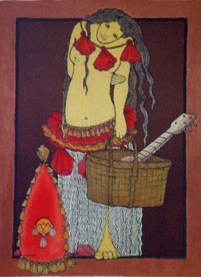 N°44 Pupahu Lithographie 82/250 75X54
