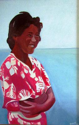 N°48 Fille des îles N°909 Hpinex 46X33