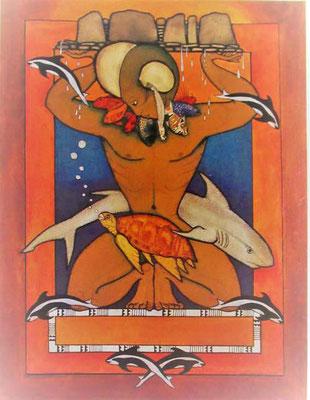 N°47 Ruahatu Lithographie 155/200 100X78