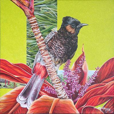 N°3 L'oiseau et le sacré 30x30 AST