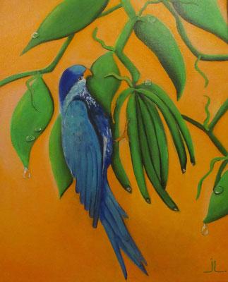 N°24 Vini Pihiti (Ua Pou) 41x33 Acrylique sur toile