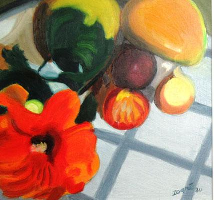 N°24 Fruits et Hibiscus N°897 Hpinex 24X23