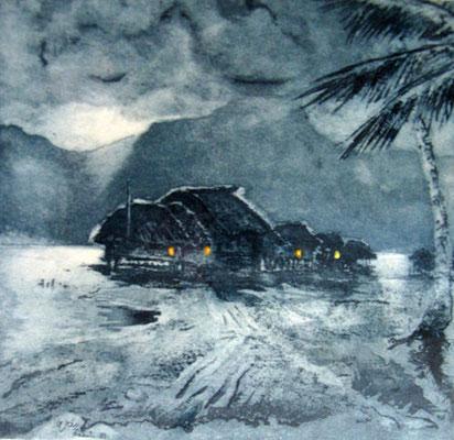 Grès Clair de lune Eau forte VSO