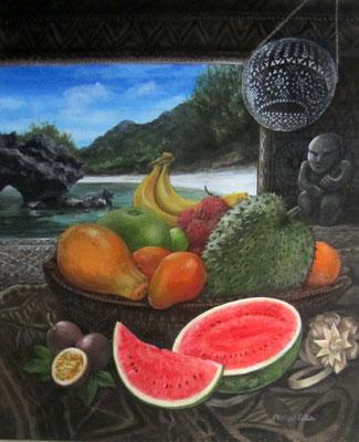 Peltier Fruits des Australes 55x46 ACP Vendu