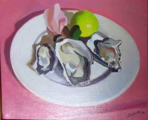 Ioane Plat d'huîtres 22x27 HST