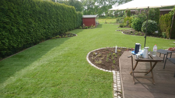 Nach der Umgestaltung | Garten- und Landschaftsbau Garber